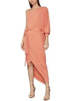 BCBG Max Azria Bcbgmaxazria Asymmetrical One-Sleeve Knit Dress