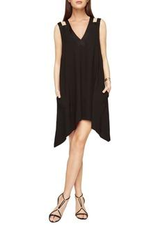 BCBGMAXAZRIA Asymmetrical Trapeze Dress