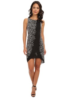 BCBGMAXAZRIA Audra Printed Dress