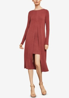 BCBG Max Azria Bcbgmaxazria Ayana Layered Midi Dress