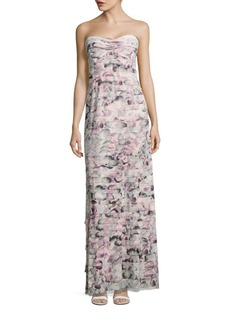 BCBGMAXAZRIA Bandaged Sweetheart Gown