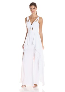 BCBG Max Azria BCBGMAXAZRIA BCBGMax Azria Women's Juliana Woven Evening Dress