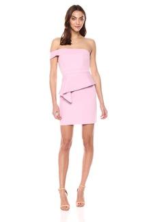 BCBG Max Azria BCBGMax Azria Women's Off-The-Shoulder Peplum Dress