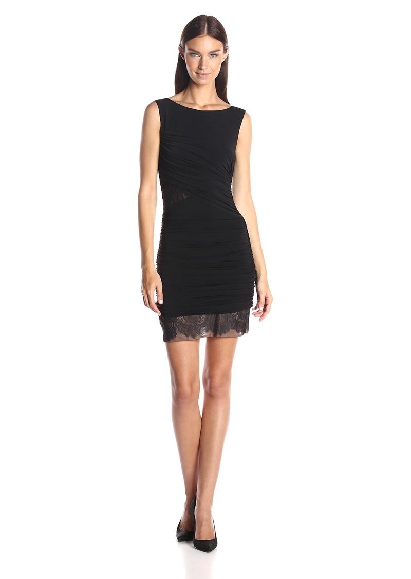 BCBG Max Azria BCBGMax Azria Women's Renay Shirred Sleeveless Dress