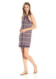 BCBGMAXAZRIA BCBGMax Azria Women's Tesa Halter Knit City Dress  L