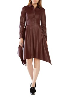 BCBGMAXAZRIA Beatryce Faux Leather Dress - 100% Exclusive