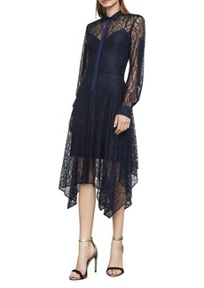 BCBG Max Azria BCBGMAXAZRIA Beatryce Lace Handkerchief Dress
