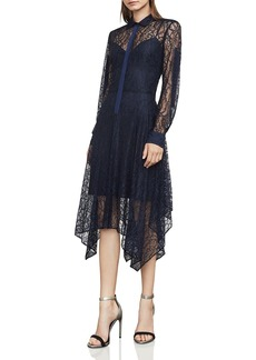 BCBG Max Azria BCBGMAXAZRIA Beatryce Lace Shirt Dress