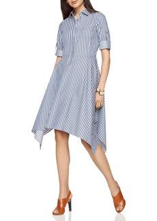 BCBGMAXAZRIA Beatryce Striped Shirt Dress