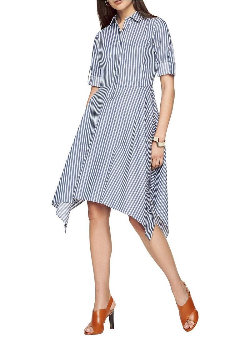190e7b54cc6 BCBG Max Azria BCBGMAXAZRIA Beatryce Striped Shirtdress | Dresses