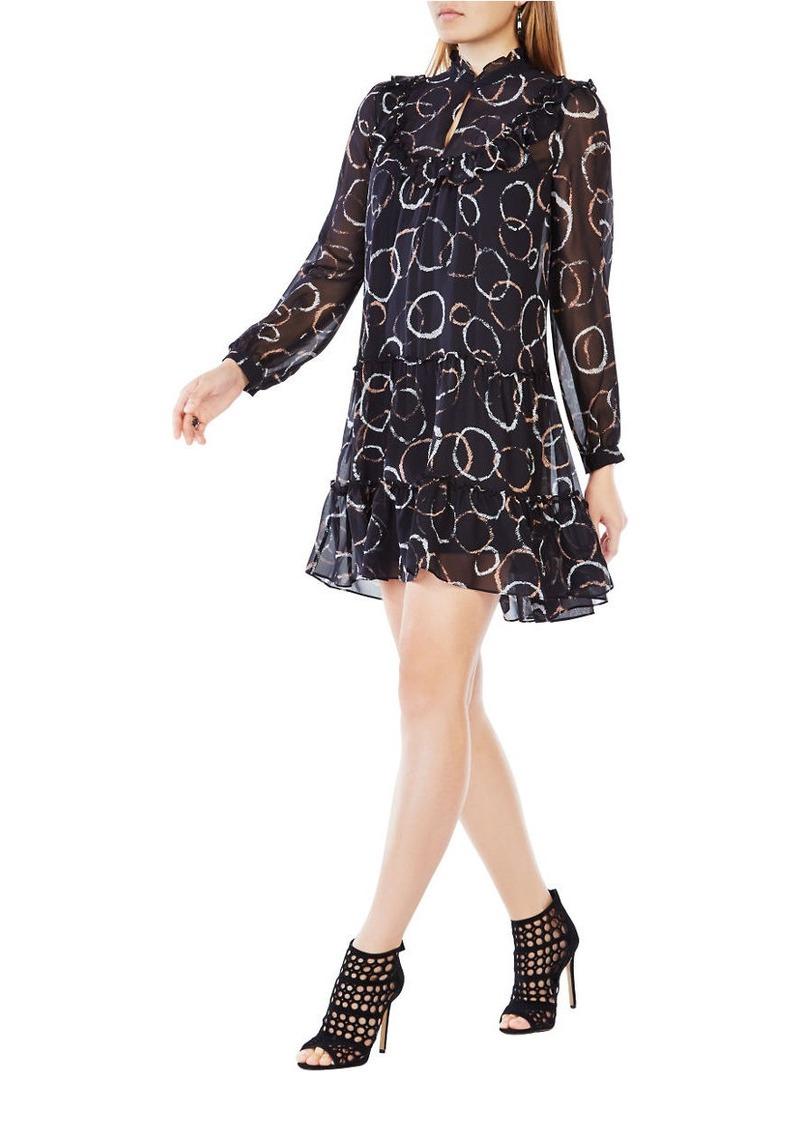 BCBG Max Azria BCBGMAXAZRIA Beccy Printed Silk Dress