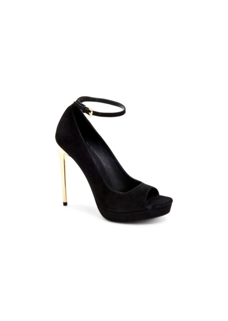 291f9301dd0 BCBGmaxazria Becky Peep Toe Dress Pumps Women's Shoes