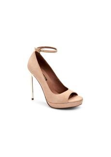 BCBG Max Azria BCBGmaxazria Becky Peep Toe Dress Pumps Women's Shoes