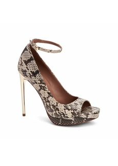 BCBG Max Azria BCBGmaxazria Becky Peep Toe Dress Pumps Women's Shoes