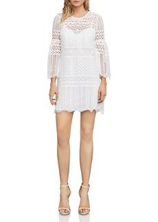BCBG Max Azria BCBGMAXAZRIA Bell Sleeve Lace Dress