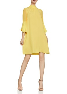 BCBG Max Azria BCBGMAXAZRIA Bell-Sleeve Shift Dress