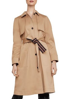 BCBG Max Azria BCBGMAXAZRIA Belted Single-Breasted Trench Coat