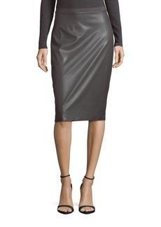 BCBG Max Azria BCBGMAXAZRIA Bess Solid Knit Skirt