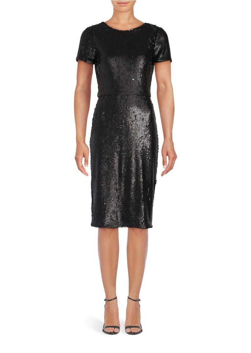 Sequined Sheath Dress