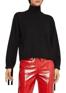 BCBG Max Azria BCBGMAXAZRIA Bishop-Sleeve Sweater