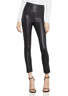 BCBG Max Azria BCBGMAXAZRIA Blossom Faux Leather Skinny Pants