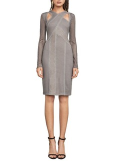 BCBGMAXAZRIA Mesh Dress