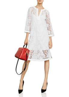 BCBG Max Azria BCBGMAXAZRIA Botanical Lace Shift Dress