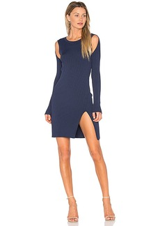 BCBGMAXAZRIA Braiden Sweater Dress in Blue. - size M (also in S)