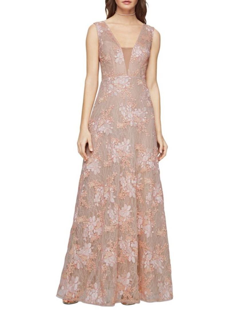 BCBG Max Azria BCBGMAXAZRIA Brea Lace Gown | Dresses