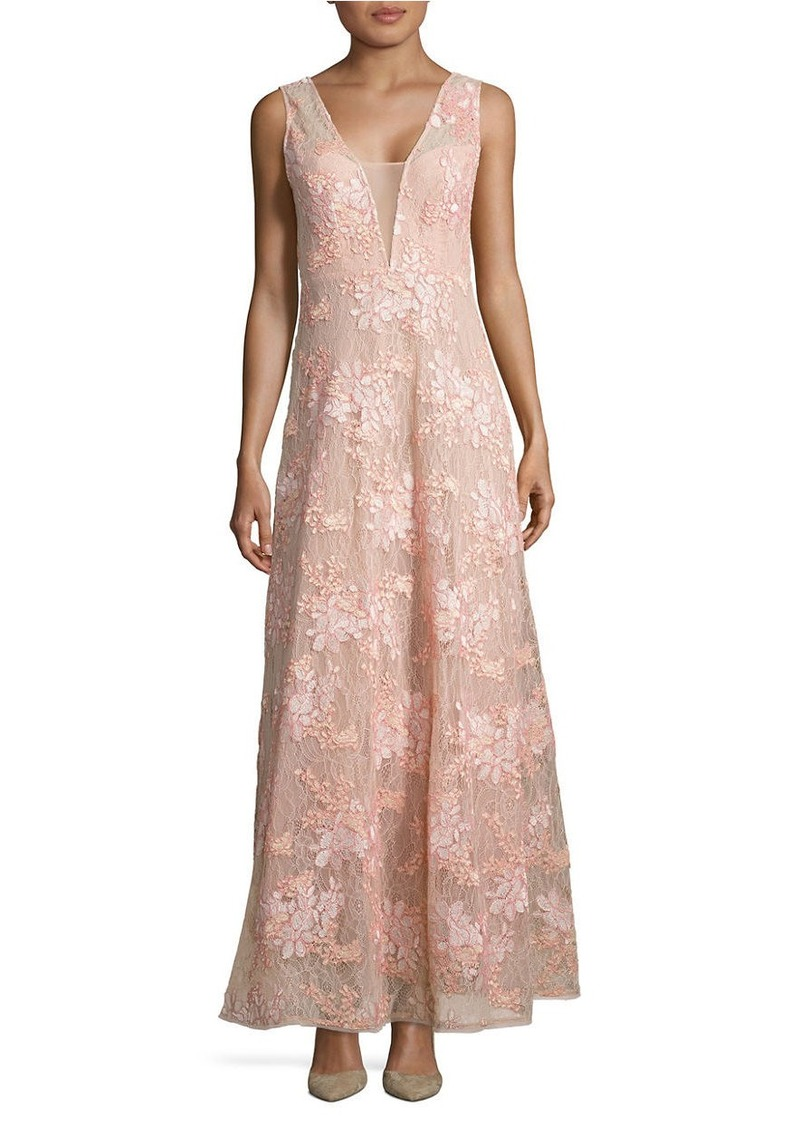 On Sale today! BCBG Max Azria BCBGMAXAZRIA Brea Lace Gown
