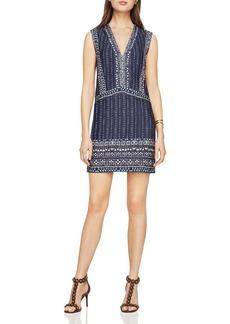 BCBGMAXAZRIA Bridgit V-Neck Shift Dress