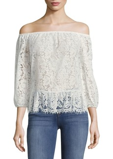 BCBG Max Azria Britanee Off-the-Shoulder Top