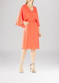 BCBGMAXAZRIA Brittni Kimono Cape Dress