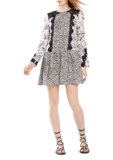 BCBGMAXAZRIA Bryanne Lace Inset Dress
