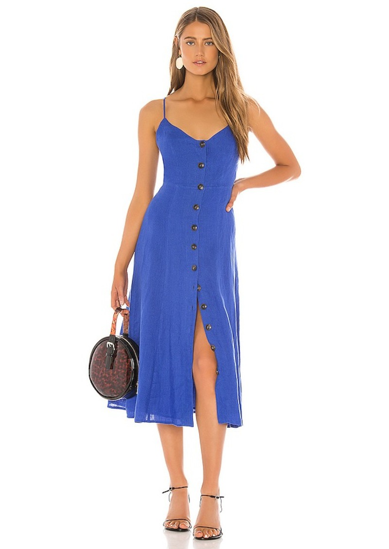 BCBG Max Azria BCBGMAXAZRIA Button Down Midi Dress