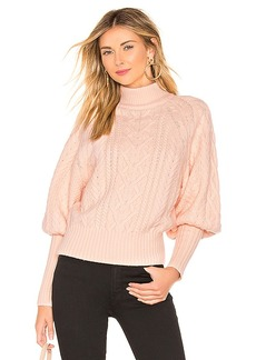 BCBG Max Azria BCBGMAXAZRIA Cable Dolman Sleeve Sweater