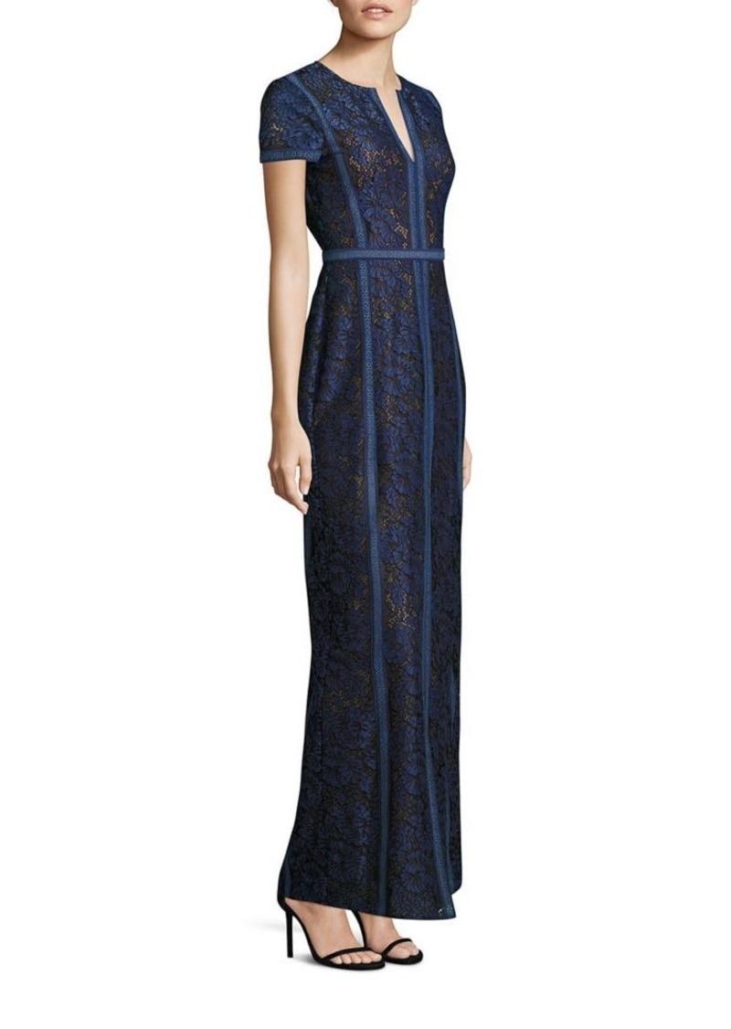 fed71459c56b BCBG Max Azria BCBGMAXAZRIA Cailean Lace Column Gown   Dresses