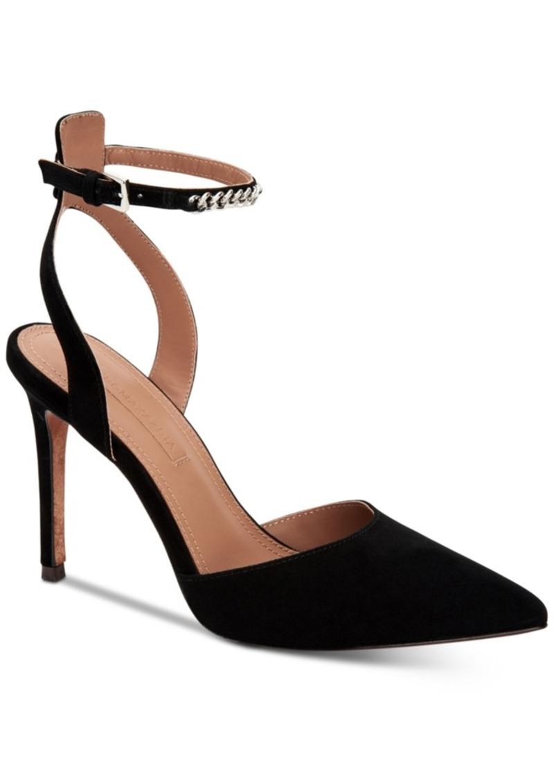 52274776614 Bcbgmaxazria Cairo Ankle-Strap Pumps Women's Shoes