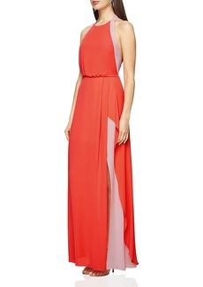 Bcbgmaxazria Camillia Color-Block Gown