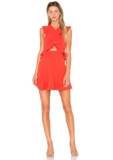 BCBGMAXAZRIA Careen Dress in Bright Poppy