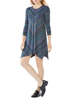BCBGMAXAZRIA Carmela Striped Jersey Dress