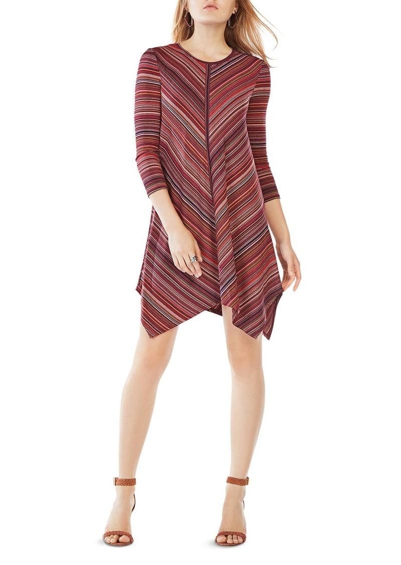 Bcbg Max Azria Bcbgmaxazria Carmela Striped Jersey Dress