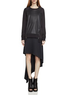 BCBGMAXAZRIA Caroline Two-Piece Sweatshirt Dress