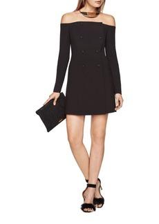 BCBGMAXAZRIA Cary Off-The-Shoulder Dress