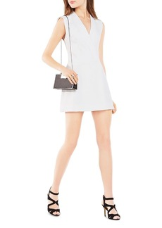 BCBGMAXAZRIA Caryn Wrap Vest Dress