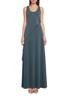 BCBGMAXAZRIA Cascade Sleeveless Maxi Dress