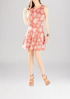 BCBGMAXAZRIA Cassandra Jacquard Dress