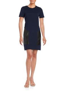 BCBGMAXAZRIA Chrissie Knit Shift Dress