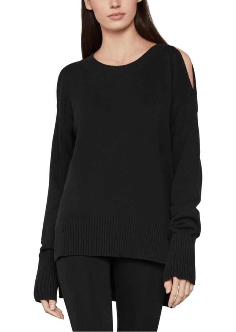 BCBG Max Azria Bcbgmaxazria Cold-Shoulder Sweater