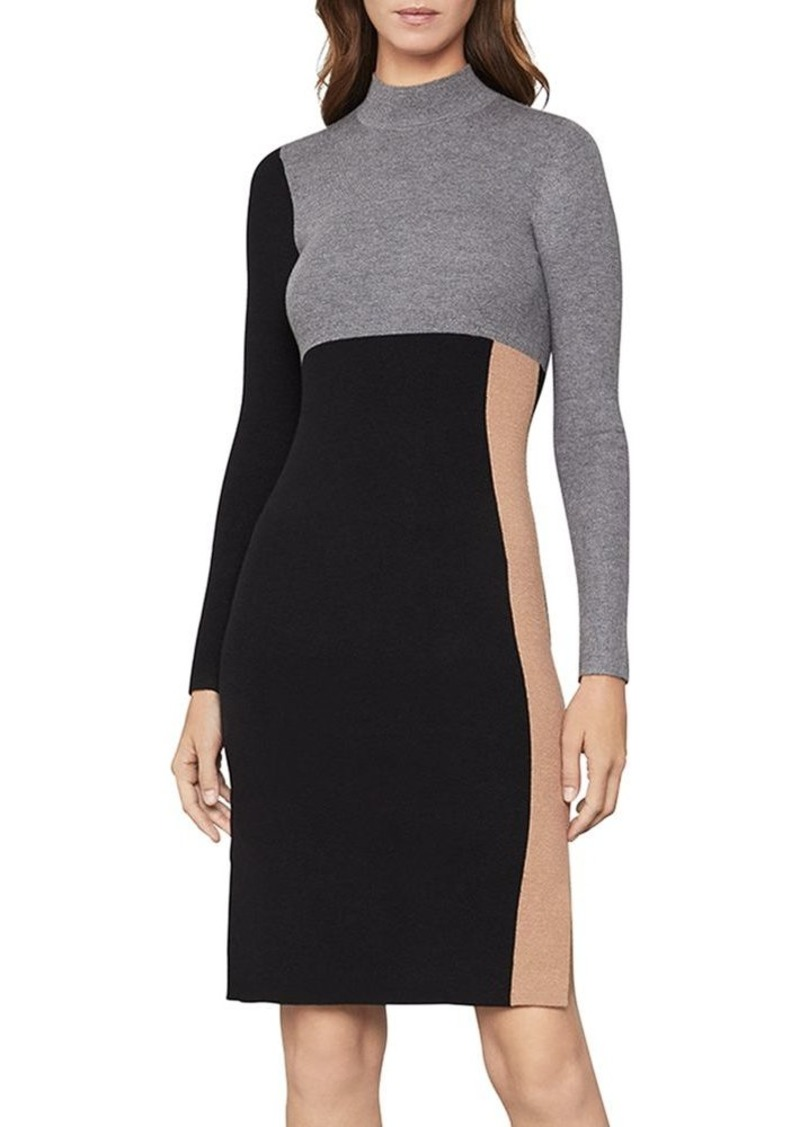 BCBG Max Azria BCBGMAXAZRIA Color-Block Sweater Dress